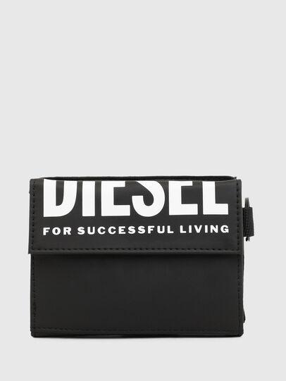Diesel - YOSHI II, Black - Small Wallets - Image 1