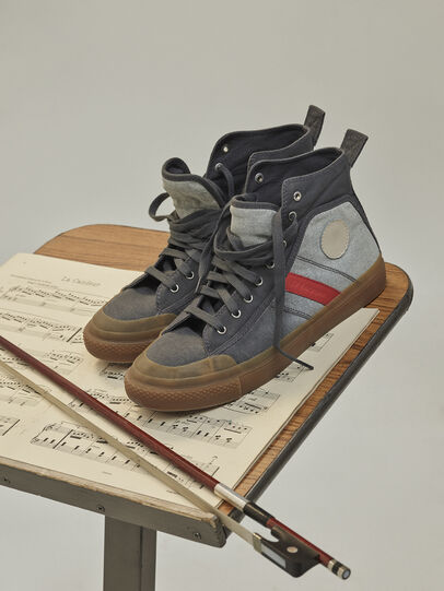 Diesel - GR02 SH32, Grey/White - Sneakers - Image 3