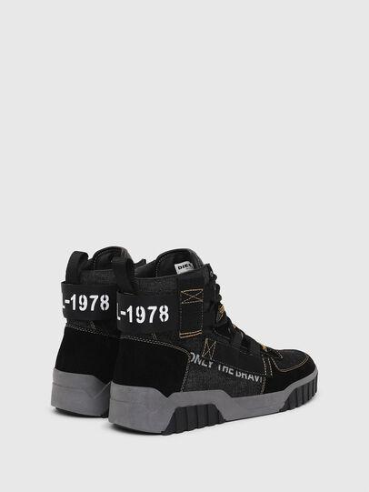 Diesel - S-RUA MID SP, Black - Sneakers - Image 3
