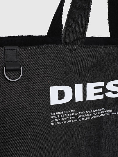 Diesel - D-THISBAG SHOPPER L, Black - Shopping and Shoulder Bags - Image 5