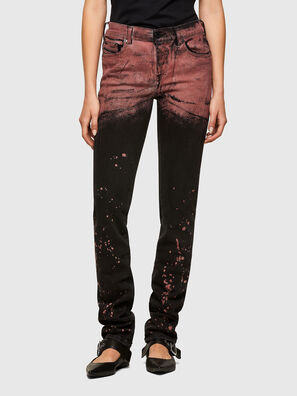 TYPE-1005, Black/Red - Jeans