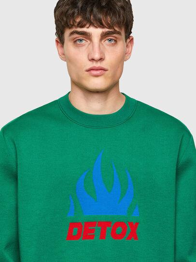 Diesel - K-TEXAS, Dark Green - Knitwear - Image 3