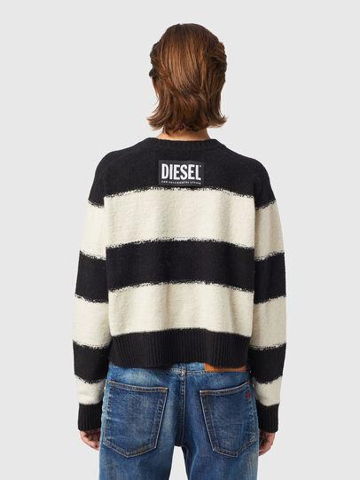 Diesel - M-VIRGINIA, Black/White - Knitwear - Image 2