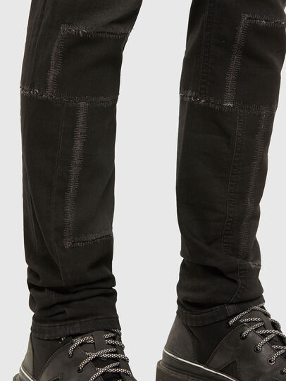 Diesel - Thommer JoggJeans 009IC, Black/Dark grey - Jeans - Image 5