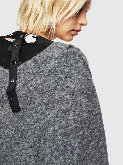 Diesel - M-MARIKAX, Grey - Knitwear - Image 4
