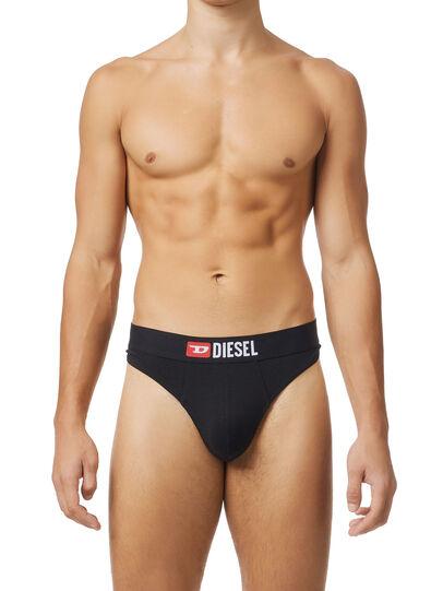 Diesel - UMBR-STRINGTHREEPACK, Black - Briefs - Image 1