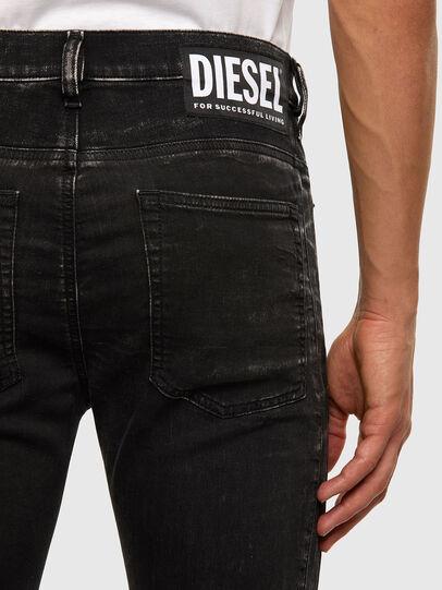 Diesel - D-Reeft JoggJeans 009FY, Black/Dark grey - Jeans - Image 5