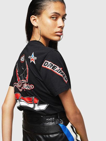 Diesel - ASTARS-T-DIEGO-FL, Black - T-Shirts - Image 5