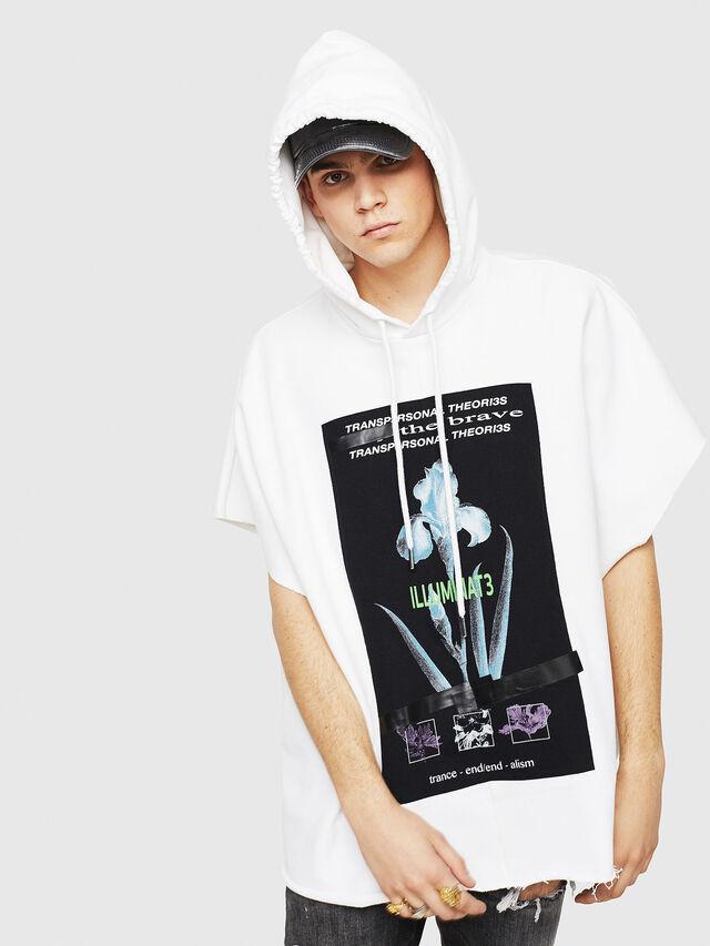 Diesel - S-MAKIKO, White/Black - Sweaters - Image 1