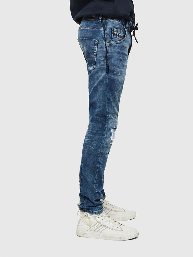Diesel Krooley JoggJeans 0685I, Medium blue - Jeans - Image 4