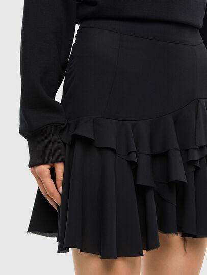 Diesel - O-KOEPY, Black - Skirts - Image 3