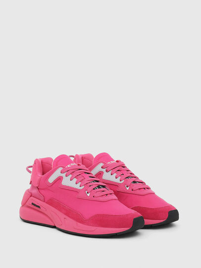 Diesel - S-SERENDIPITY LC W, Pink Fluo - Sneakers - Image 2
