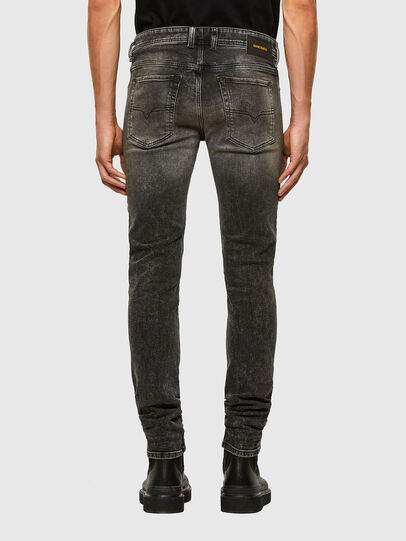 Diesel - Sleenker 009IS, Black/Dark grey - Jeans - Image 2