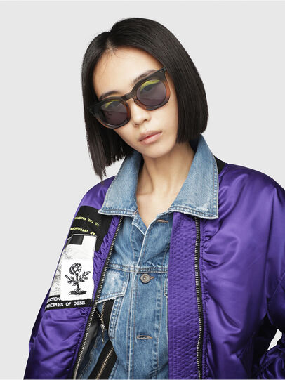 Diesel - DL0283, Blue/Yellow - Sunglasses - Image 5