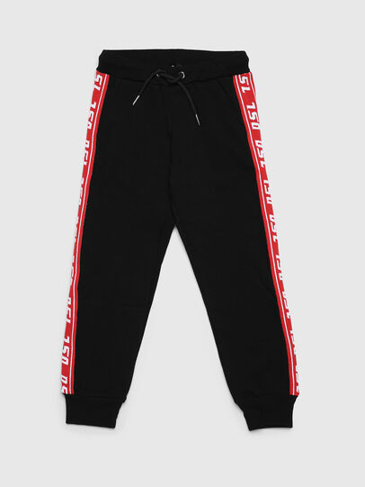 Diesel - PSUITA, Black/Red - Pants - Image 1