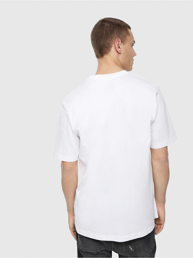 Diesel - T-JUST-Y4, White - T-Shirts - Image 2