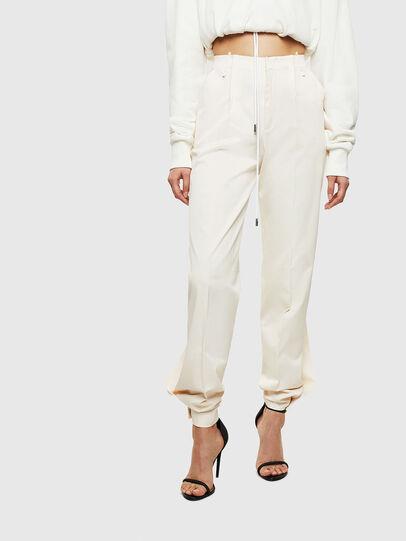 Diesel - P-BYSTRIT, White - Pants - Image 1