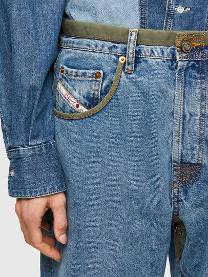 Diesel - DxD-P3 0CBBI, Light Blue - Jeans - Image 4