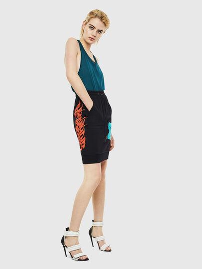 Diesel - O-NYUSHA-C, Black - Skirts - Image 5