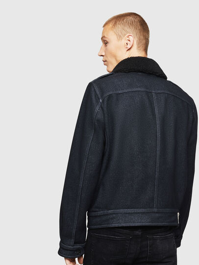 Diesel - W-VLADIMIR, Black - Winter Jackets - Image 2