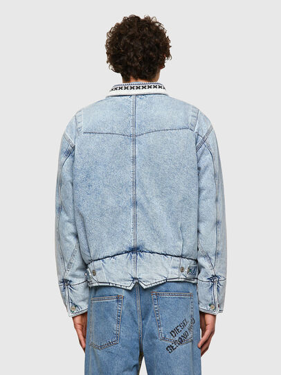 Diesel - DxD-J4, Light Blue - Denim Jackets - Image 3