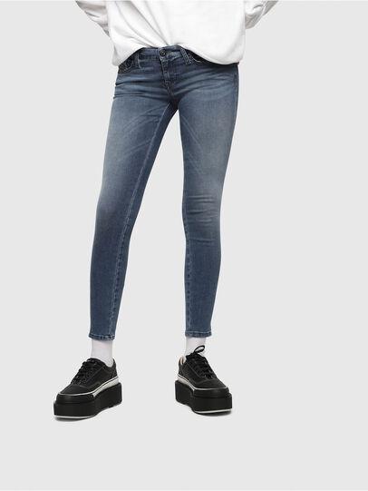 Diesel - Skinzee Low Zip 0681P,  - Jeans - Image 1
