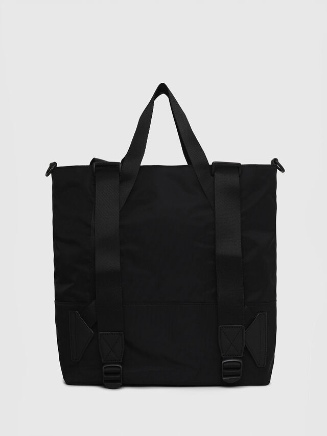Diesel - F-SUSE T BACK W, Black/Blue - Backpacks - Image 2