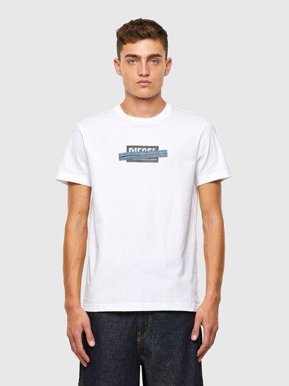 Diesel - T-DIEGOS-X40, White - T-Shirts - Image 1