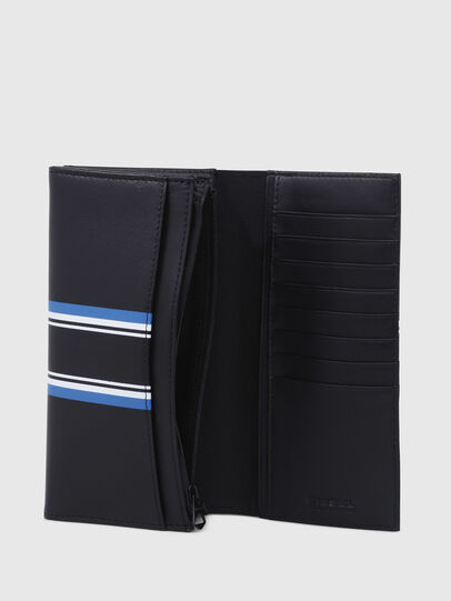 Diesel - 24 A DAY, Dark Blue - Continental Wallets - Image 3