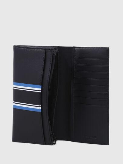 Diesel - 24 A DAY, Dark Blue - Continental Wallets - Image 3
