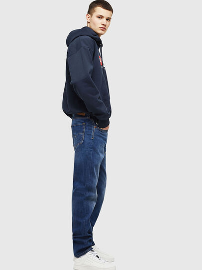 Diesel - Larkee-Beex 082AZ, Dark Blue - Jeans - Image 5