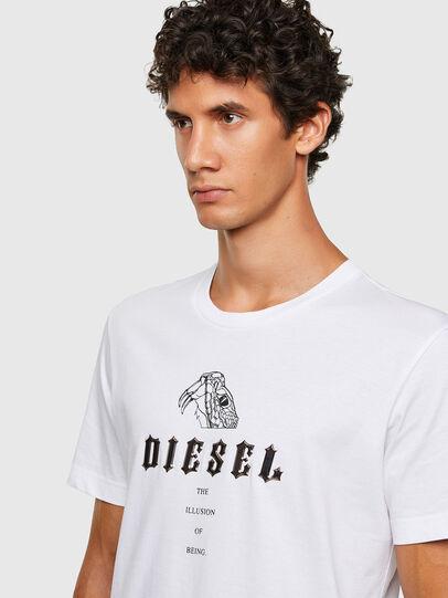 Diesel - T-DIEGOS-N30, White - T-Shirts - Image 3