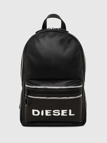 Diesel - ESTE, Black/White - Backpacks - Image 1