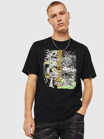 Diesel - T-JUST-J13, Black - T-Shirts - Image 1