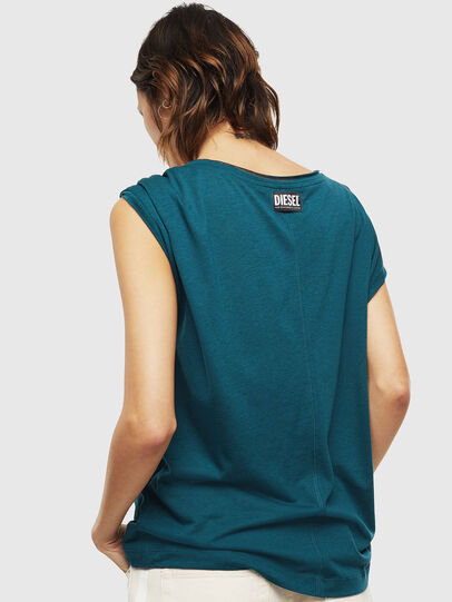 Diesel - T-SALEM, Dark Green - Tops - Image 2