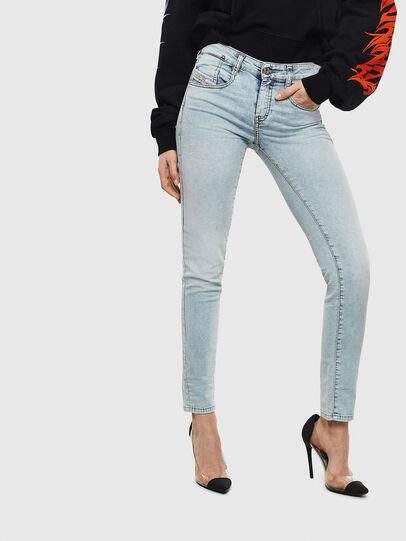 Diesel - D-Ollies JoggJeans 069LL, Light Blue - Jeans - Image 1