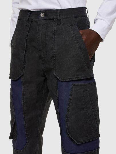 Diesel - D-Eluxerr JoggJeans® 0DDAV, Black/Dark grey - Jeans - Image 3