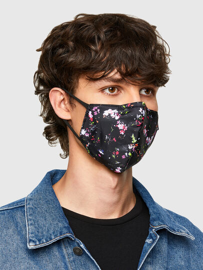Diesel - FACEMASK-FLO-A, Black - Other Accessories - Image 2