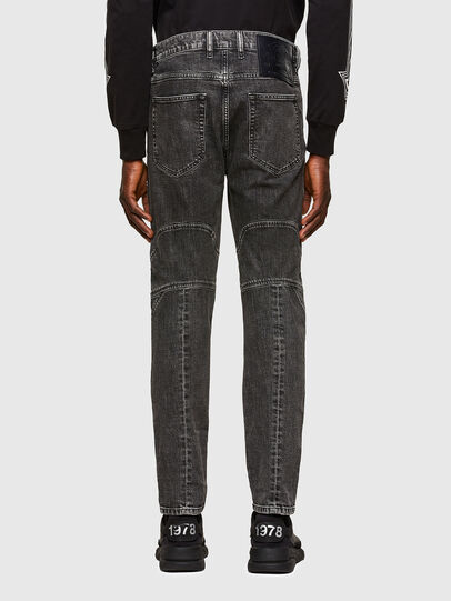 Diesel - D-Vider 009QZ, Black/Dark grey - Jeans - Image 2