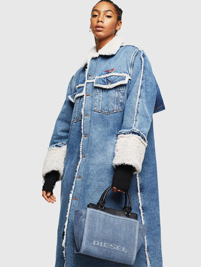 Diesel - BADIA, Blue Jeans - Satchels and Handbags - Image 7