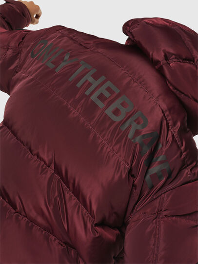 Diesel - W-SMITH-YA, Bordeaux - Winter Jackets - Image 6