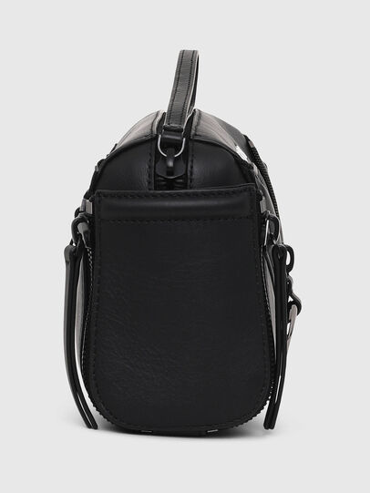 Diesel - LE-ZIPPER CROSSBODY, Black - Crossbody Bags - Image 3