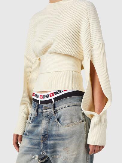 Diesel - M-SYLVANIA, White - Knitwear - Image 3