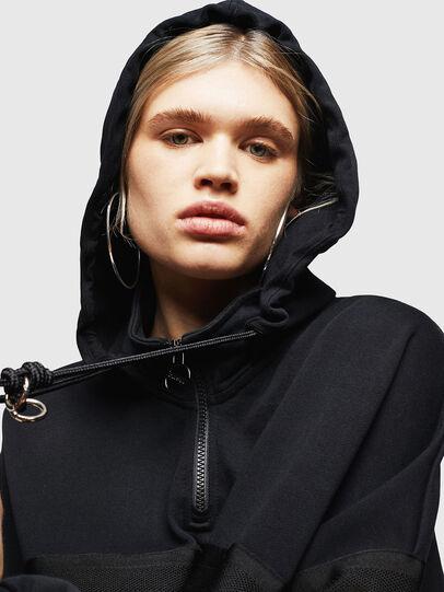 Diesel - F-AVAL, Black - Sweaters - Image 5