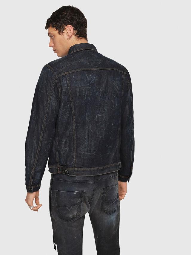 Diesel - CL-NHILL, Dark Blue - Denim Jackets - Image 2