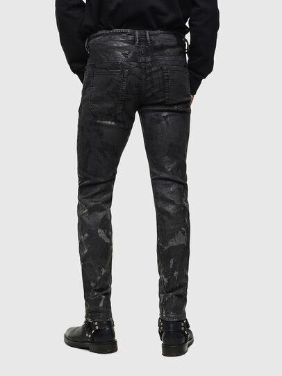 Diesel - Thommer JoggJeans 084AI, Black/Dark grey - Jeans - Image 2