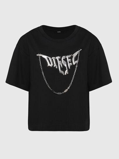 Diesel - T-BOWLY, Black - T-Shirts - Image 1