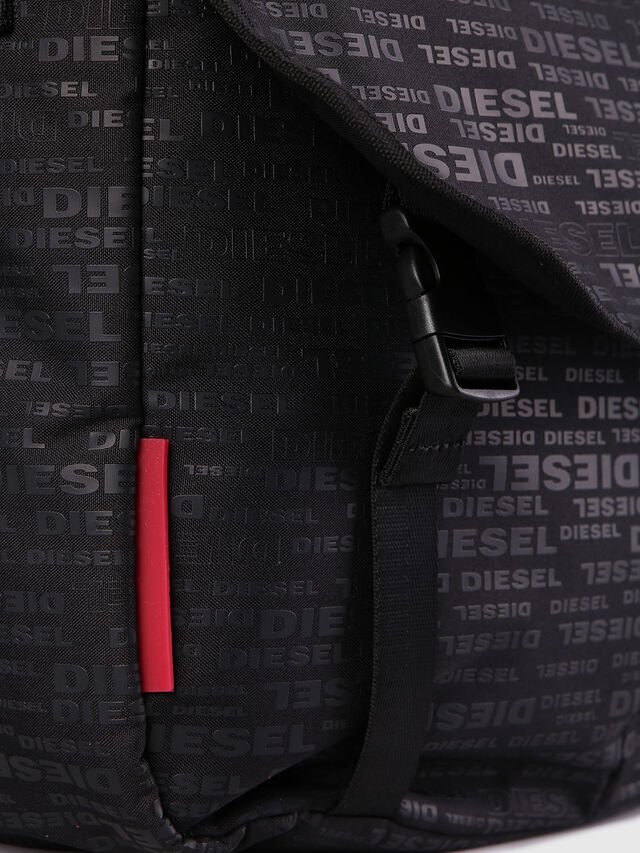 Diesel - F-DISCOVER MESSENGER, Black/Red - Crossbody Bags - Image 5