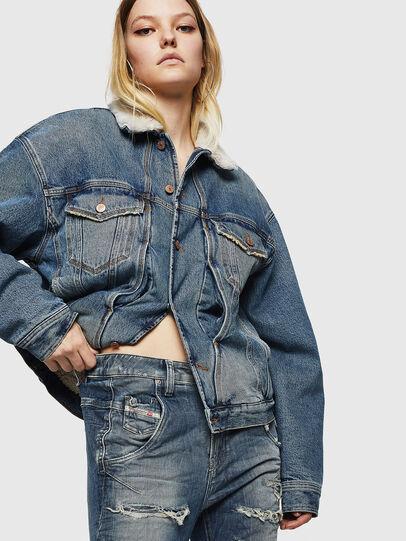 Diesel - Fayza JoggJeans 0890A, Light Blue - Jeans - Image 5