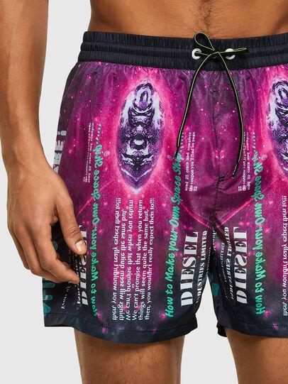 Diesel - BMBX-WAVE 2.017, Black/Violet - Swim shorts - Image 3